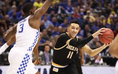 Landry Shamet blocked at the buzzer, Wichita State falls to Kentucky