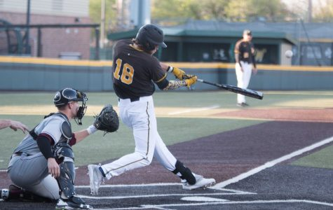 Sophomore Alec Bohm hits a home run during the game against Southern Illinois.
