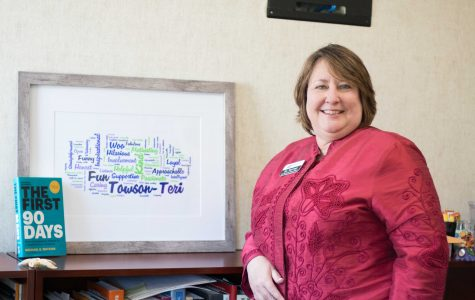 Between a rock and a hard place: Teri Hall reflects on her role as VP of student affairs