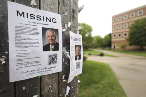 'Have you seen this man?' students ask
