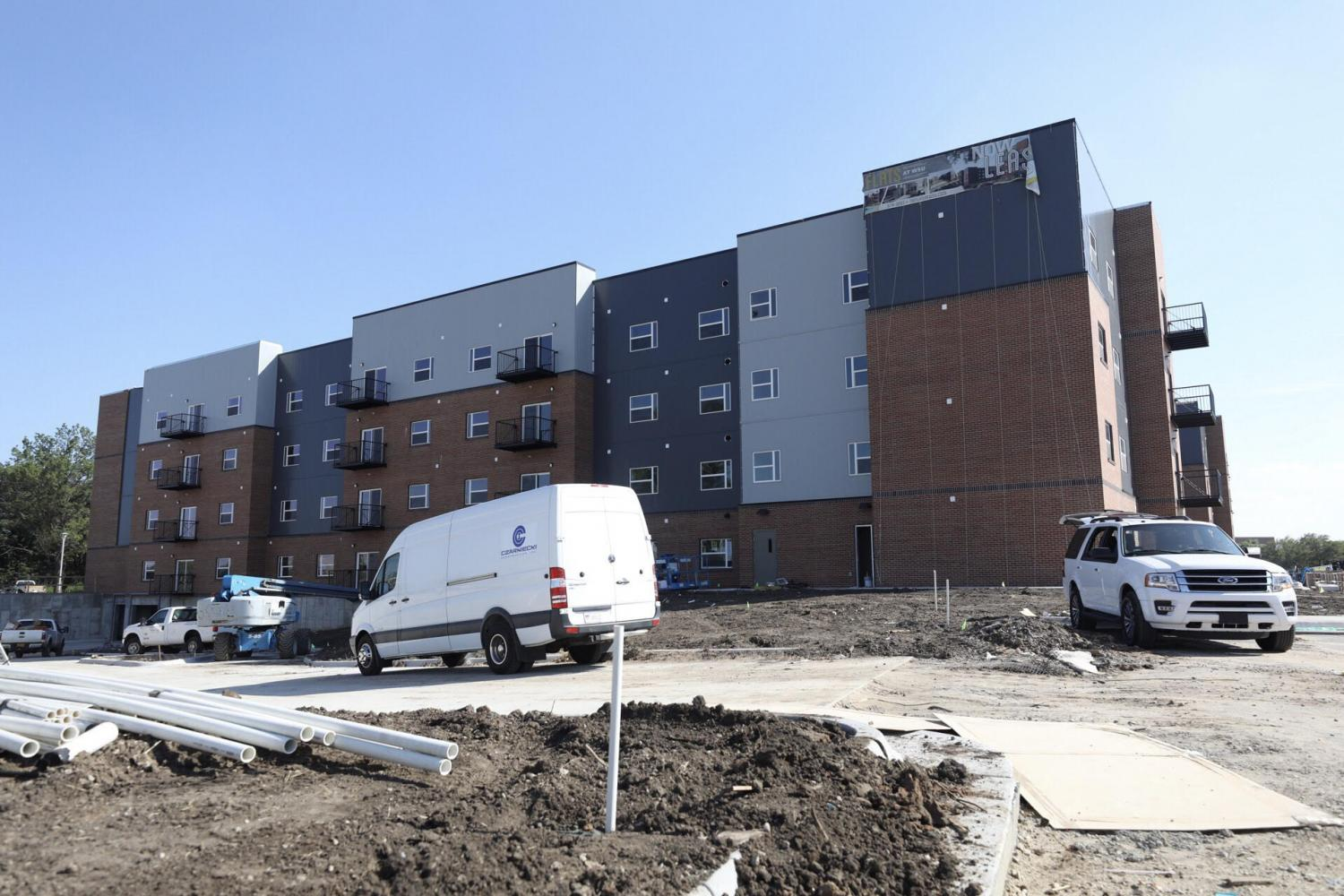 The+Flats+at+Wichita+State+University+is+a+private-owned+apartment+complex+on+Innovation+Campus.+Aug.+14%2C+Wichita+State+announced+about+300+students+would+be+moved+from+Fairmount+Towers+to+the+complex.