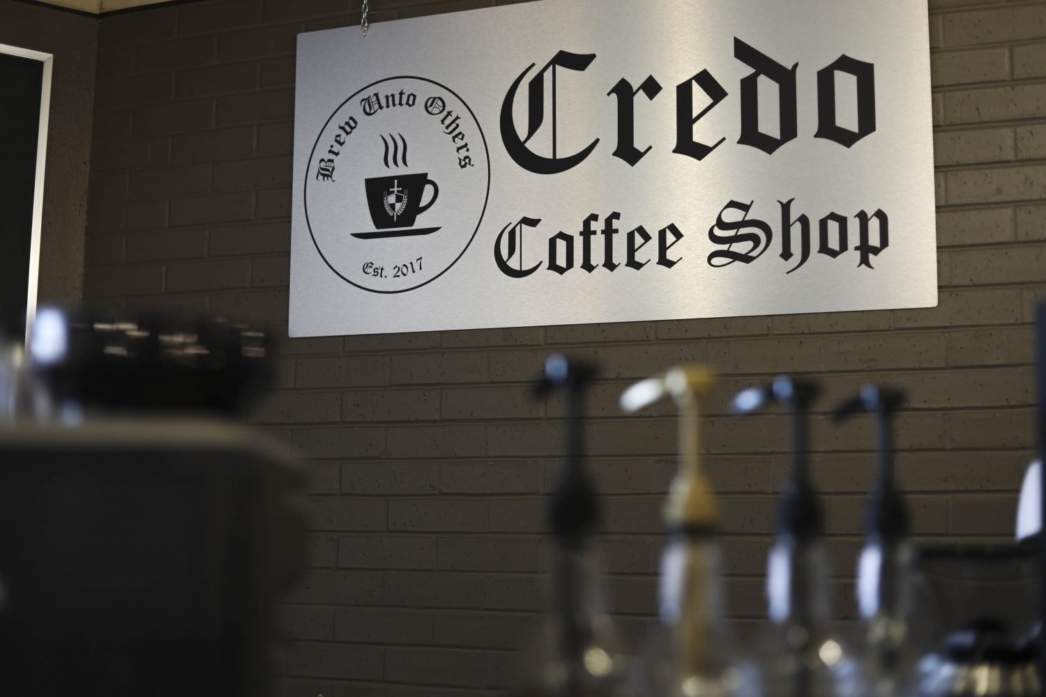 Credo+Coffee+Shop+in+the+basement+of+the+St.+Paul+Catholic+Student+Center+is+set+to+open+Aug.+14.+just+in+time+for+the+Fall+Semester.+