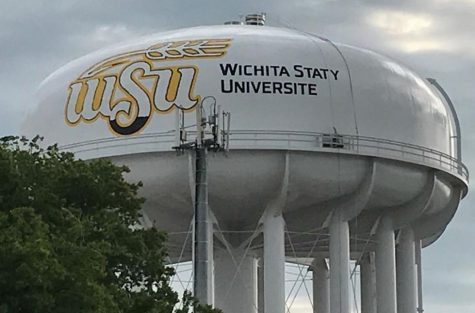 Wichita State water tank gets university's name wrong