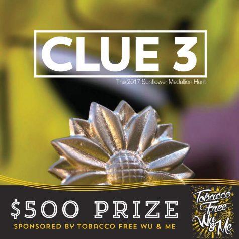 2017 Sunflower Medallion Hunt: Clue 3