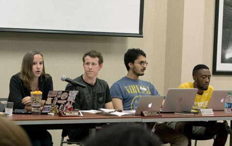 SGA cabinet calls Bardo's decision to open fees meeting 'the pinnacle of cowardice'