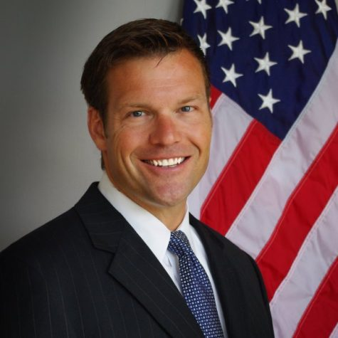 Kobach takes down government ethics database