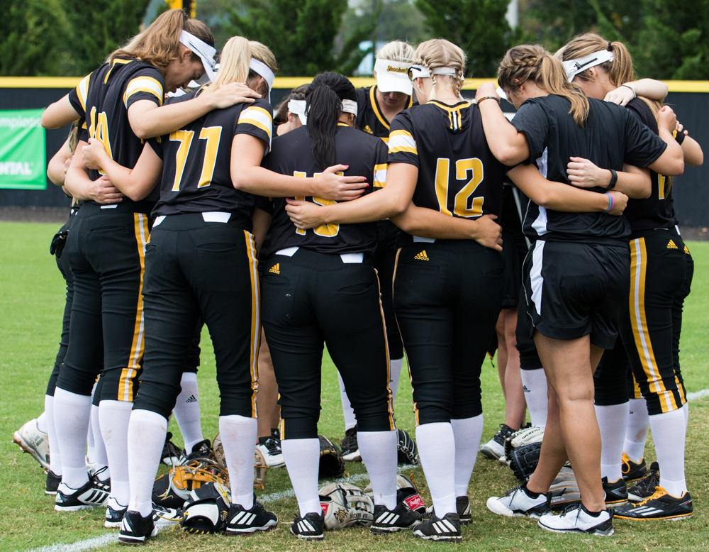 Wichita+State+Softball+prepares+for+their+game+against+Hutchinson+Community+College+Saturday+afternoon+at+Wilkins+Stadium.+%28Sept.+16%2C+2017%29