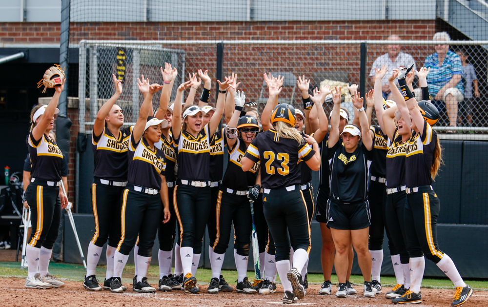 PHOTOS: Wichita State strikes out Hutchinson Community College 17-2
