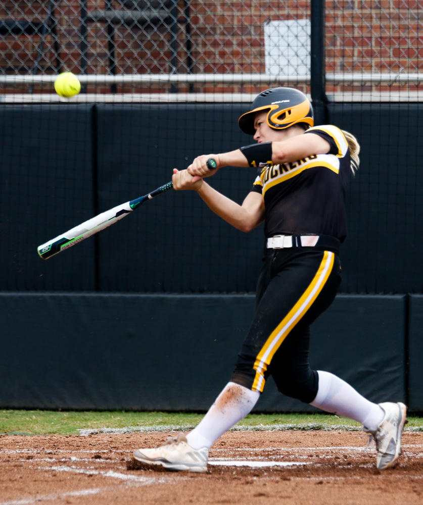 Wichita+State%27s+Mackenzie+Wright+%2810%29+hits+the+ball+to+help+her+team+against+Hutchinson+Community+College+Saturday+afternoon+at+Wilkins+Stadium.+%28Sept.+16%2C+2017%29