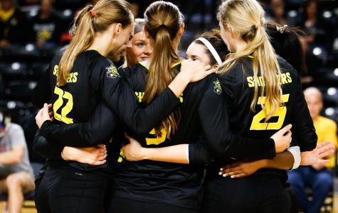 Volleyball works through growing pains in midst of four-game losing streak