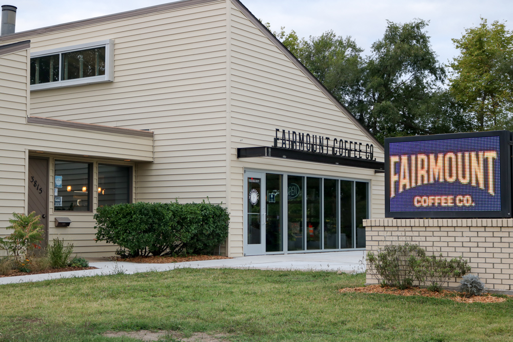 Fairmount+Coffee+Co.+is+located+across+the+street+from+Wichita+State+University.