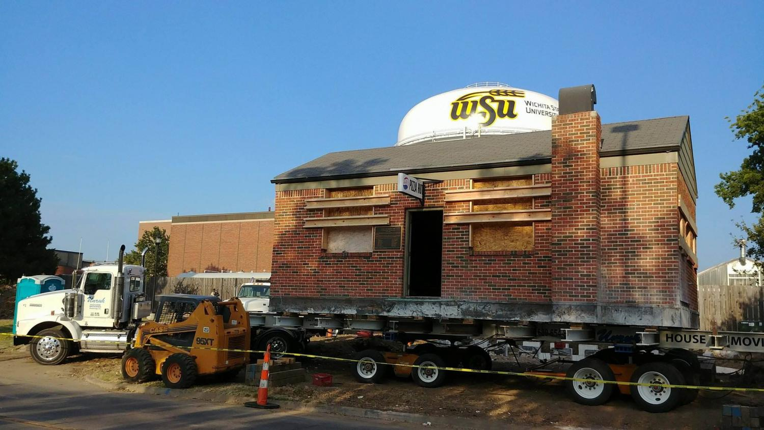 The original Pizza Hut will be moved to its new location on Innovation Campus Monday morning.