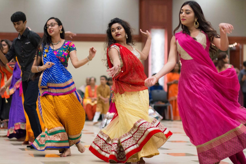 PHOTOS: Hindu community gathers for Garba Night