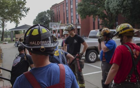 PHOTOS: Firefighters use Fairmount Towers for training