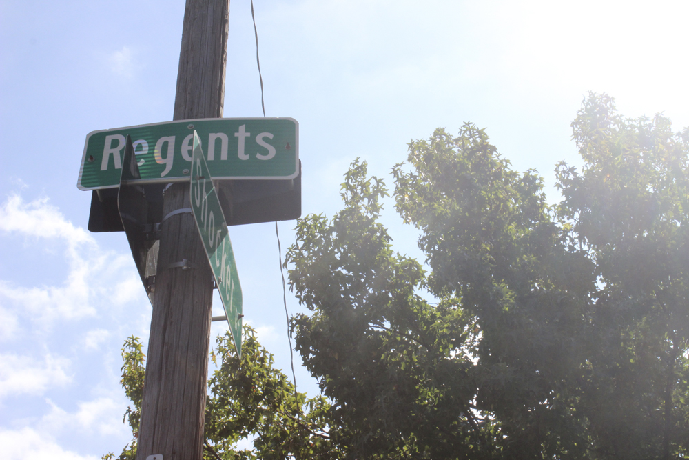A drive-by shooting was reported on the 4100 block of E. Regents in the Fairmount neighborhood.