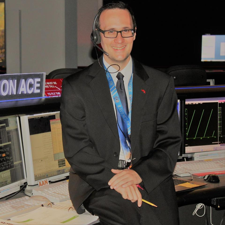Michael Staab now works in NASA's Jet Propulsion Laboratory.