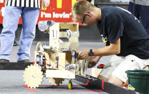 PHOTOS: Local High School Students Compete in Robotics Competition