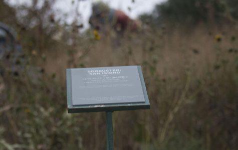 New plaques for campus sculptures