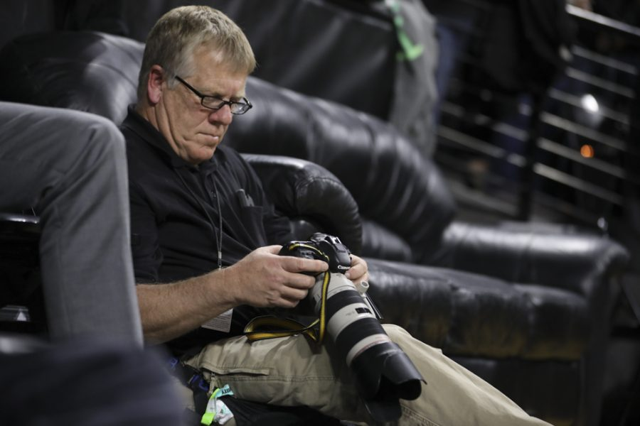 Behind the lens: Team photographer Jeff Tuttle talks photos, basketball, memories