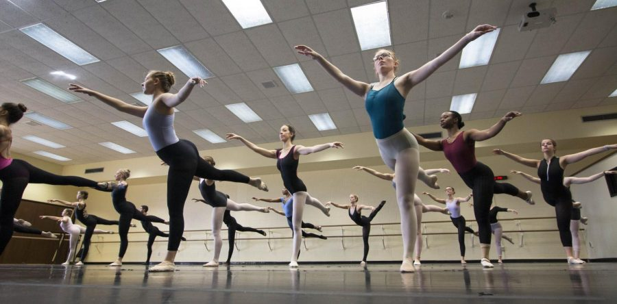 Student dancers prepare for Kansas Dance Festival performance