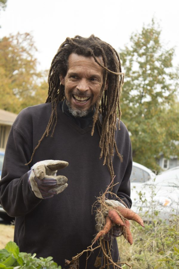 Darryl Carrington, a Community Garden Advocate, talks about the process of growing and maintaining sweet potatoes.