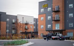 The Flats are a private apartment complex on Wichita State's Innovation Campus. Students staying on campus this summer will live at the building.