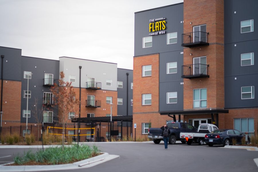 The Flats is a private apartment complex on Wichita State