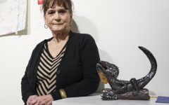 Sculpture helps student overcome painful past
