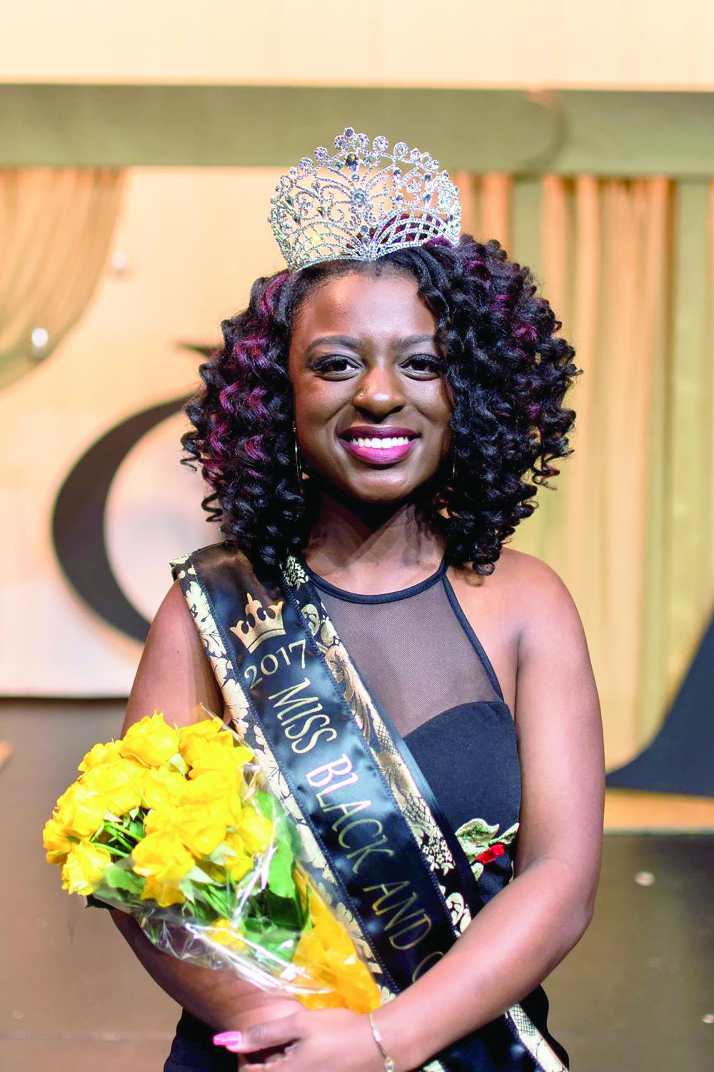 Sophomore Mia Riley was crowned queen of Miss Black and Gold 2017.