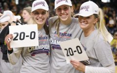 PHOTOS: Shockers sweep American; Celebrate Senior Day