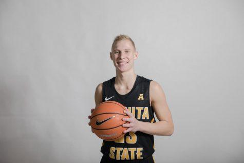 Jacob Herrs Wichita State Shockers Basketball Jersey-Black