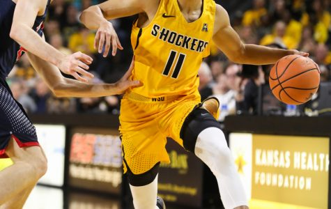 Two stress fractures won't define Shocker point guard Landry Shamet