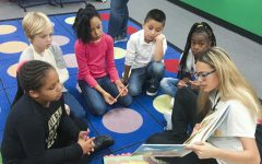 Shocker athletes give back through reading program
