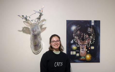 Student explores isolation in latest Cadman exhibition