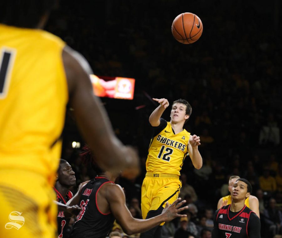 Shockers' unselfish play leads to 35-point blowout over Pirates