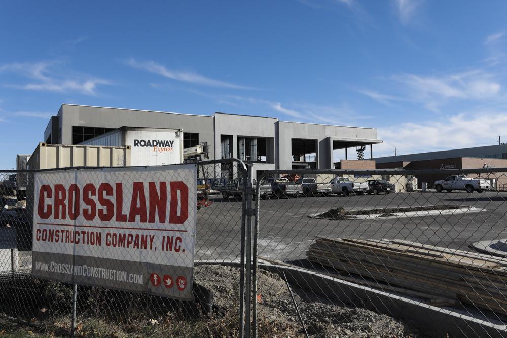 Crossland construction site near Innovation Campus.