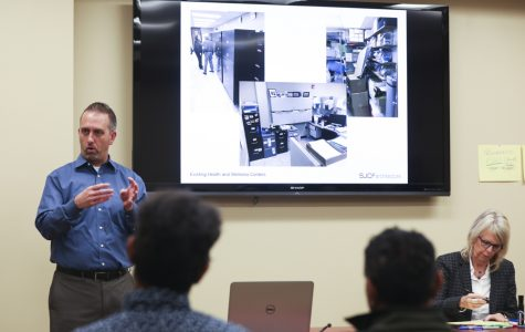 Student focus group discusses YMCA plans with architects