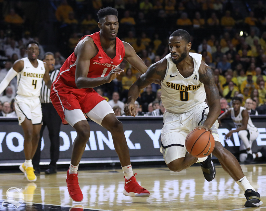 Shamet's Double-Double Propels Wichita State Past the Pirates