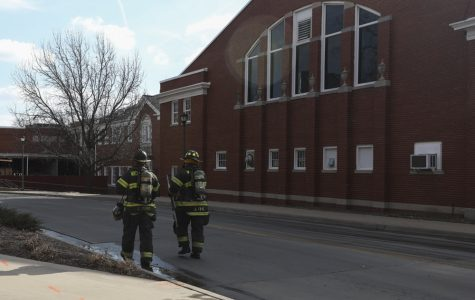 Student received first-degree burns in fire at Henrion Hall