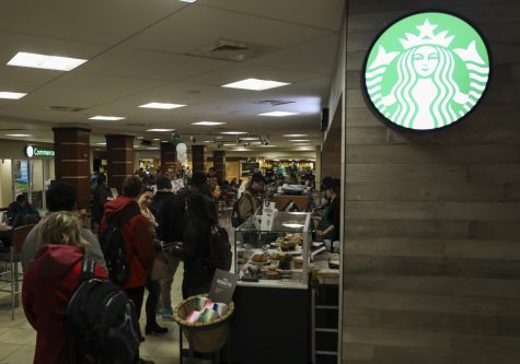 The new Starbucks in the RSC opened Wednesday, Jan. 17, 2018.
