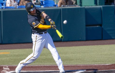Shocker baseball wins home opener series against Omaha
