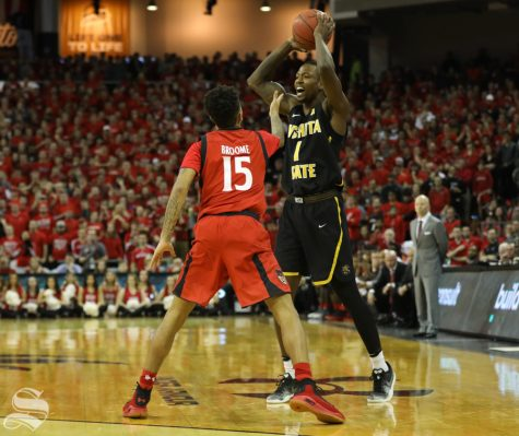 Shockers snap the nation's longest home winning streak