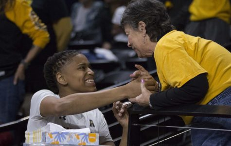 PHOTOS: Shockers celebrate win against Tulane on senior night