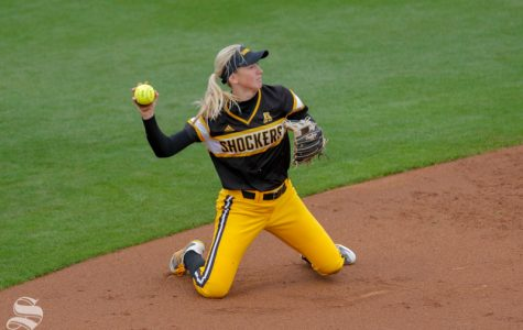 Shocker softball wins 5 games — 4 by run rule — in invitational