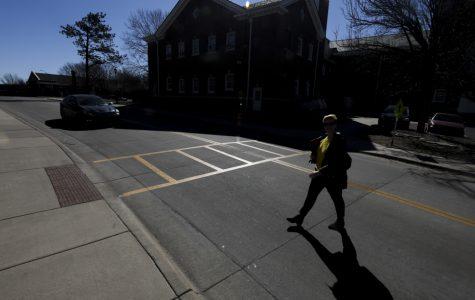 WSU staff member hit by car on campus