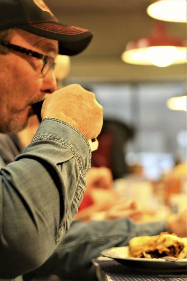 Roger Scholfield eats at Doo Dah Diner.