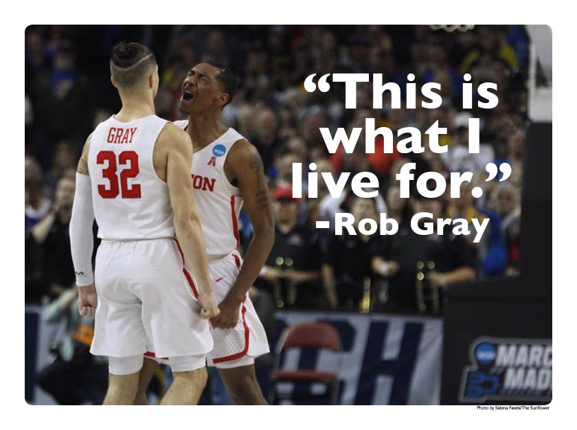Rob+Gray+hit+a+game-winning+layup+to+push+the+Cougars+into+the+second+round+of+the+NCAA+Tournament.+They%27ll+face+No.+3+Michigan+on+Saturday.+