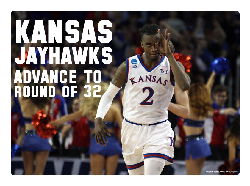 Kansas+advances+to+second+round+of+NCAA+Tournament