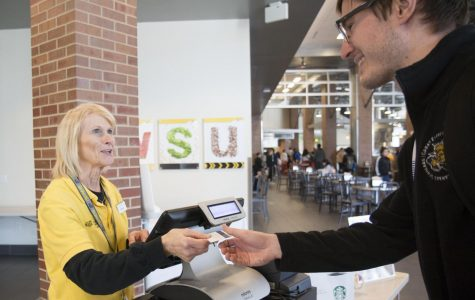 Dining cashier is 'brightest light' on campus