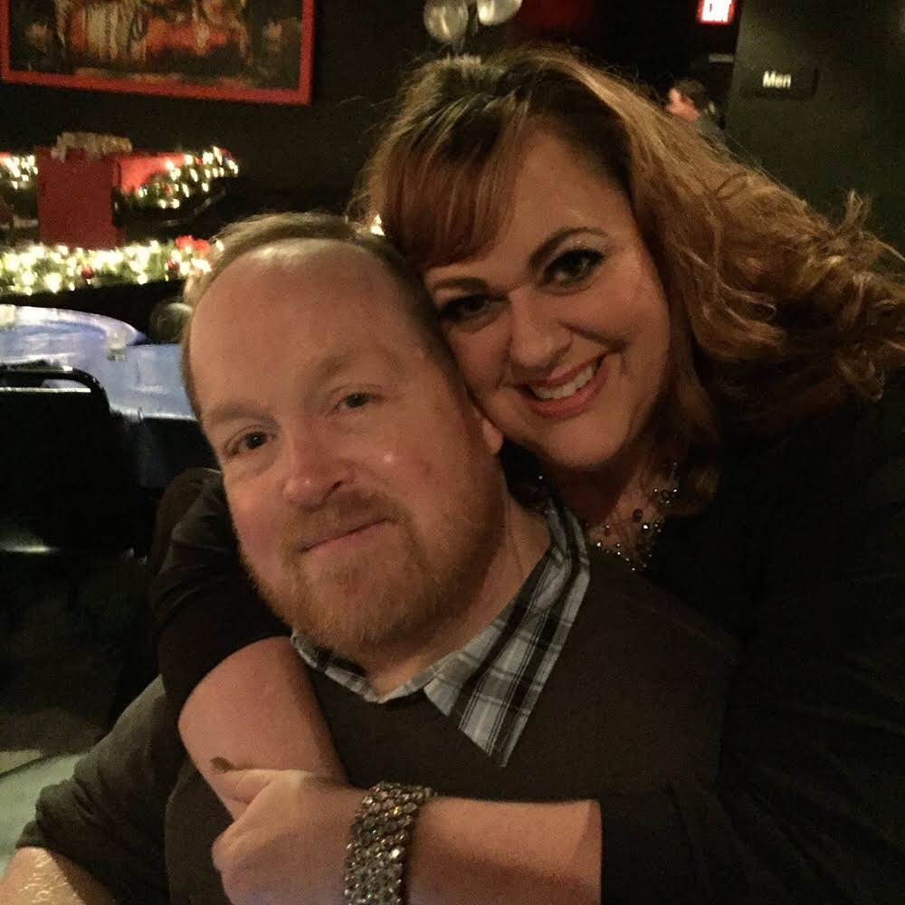 C. Patric Mitchell, a math lecturer at Wichita State who died last week, is pictured with his wife, Jenny.